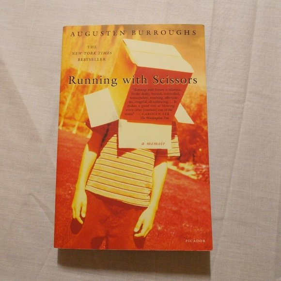 Running with Scissors by Augusten Burroughs Paperb